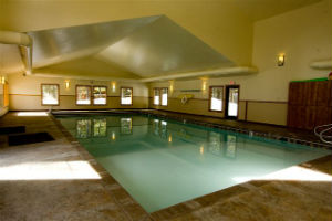 Whitefish Condos indoor pool area